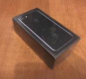Новый телефон iPhone 7 128 Гб, jet black, оригинал