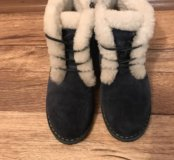 Зимние ботинки р 39
