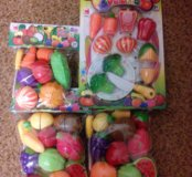 Овощи и фрукты на липучках