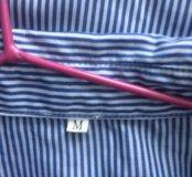 Очень стильная рубашка с шлейфом