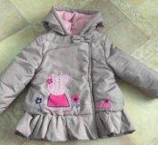 Зимние курточки на девочку