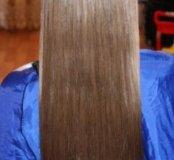 Наращивание волос горячее