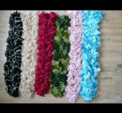 Ажурные шарфики