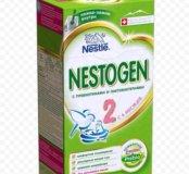 Детская молочная смесь nestogen2 (2шт)