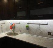 Продаю ДСП кухонную панель с каменной мойкой