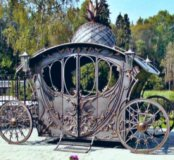 Кованная карета
