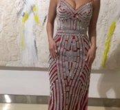 Платье вечернее красное jovani