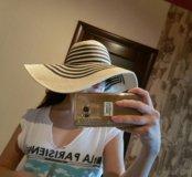 Шляпа пляжная, летняя