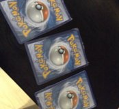Карточки Покемон 3 уп. Pokemon