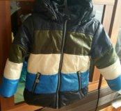 Куртка детская утепленая Sela 1 год+ подарок сапог