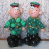Солдаты из шаров