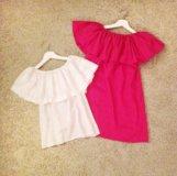 Платья и блузки с воланами (индивидуальный пошив)