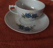Чайные чашки Дулево
