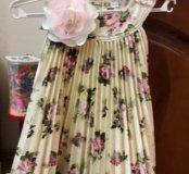 Платье Маленькая леди р. 98-52