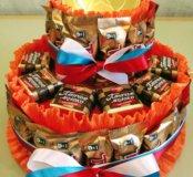 Торт из конфет к празднику
