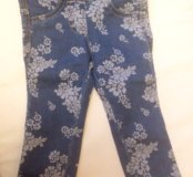 Детские джинсы beneton на 1 год