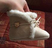 Мягкая замшевая обувь для малышей🌸