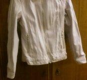 Куртка (цвет бледно -розовый)
