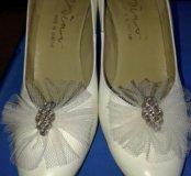Свадебные женские туфли.