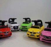 Новые каталки Mercedes, Audi, BMW.