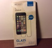 ✅ Apple iPhone 6/6S/7 Защитное стекло Deppa