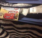 Детский махровый халат с тапочками