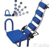 Тренажёр для мышц живота!!!
