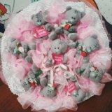 Букеты из игрушек и конфет под заказ