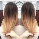 Окрашивание волос омбре балаяж кератин ботокс