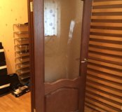 Дверь 80 см, со стеклом