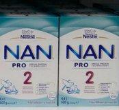 Nestle NAN 2 Pro из Финляндии.