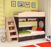 Двухъярусная кровать легенда 10
