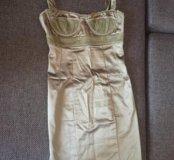 Платье бельевого типа 40