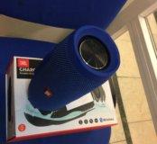 Колонка JBL Charge 3 синяя