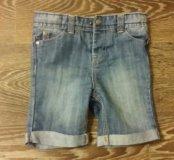 Фирменные джинсовые шорты