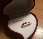 Кольцо золотое с бриллиантами 💍