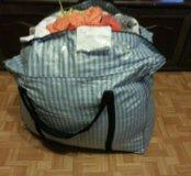 вещи огромной сумкой