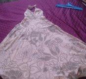 Платье в пол хлопок