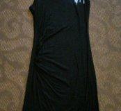 Эффектное ассиметричное платье с пайетками