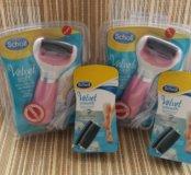 Scholl розовая роликовая пилка с USB