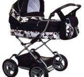 Детская коляска-люлька Hebart Classic сhrome