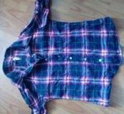 Джинсы и рубашка на девочку 140-146