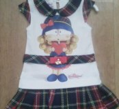 Новое платье 104см