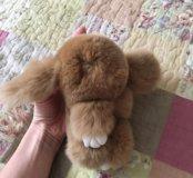 Заяц из меха