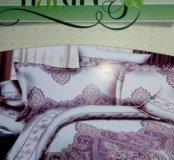 Новый 1,5спальный постельное белье