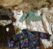 Ветровки и Много одежды на малыша 1 год