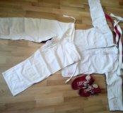 Самбо-костюм+борцовки