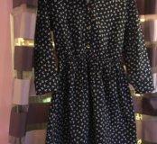 Джинсовое платье в якоречках
