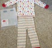Новый костюмчик пижамка mothercare