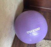 Мяч для гимнастики+насос